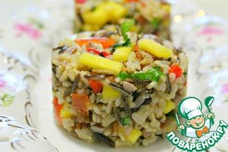 Рецепт: Карибский рис