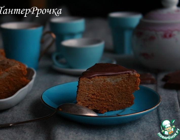 Рецепт: Шоколадно-тыквенный десерт В два счета