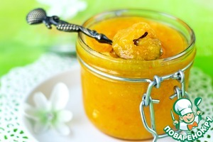 Waste-free tangerine jam
