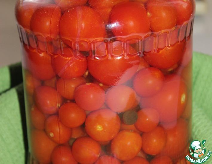 Рецепт: Любимые помидоры на зиму