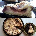 Творожный пирог с клубникой – кулинарный рецепт