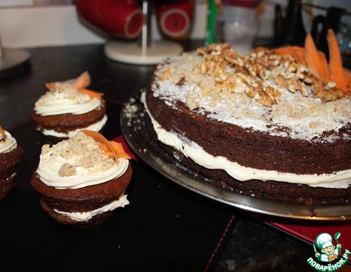 Рецепт: Mорковный торт