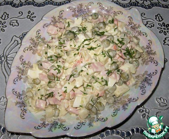 Рецепт салата оливье поваренок