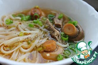 Рецепт: Суп Почти по-корейски