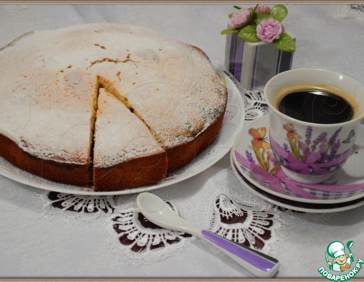 Рецепт: Пышный пирог Маковый