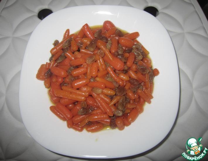 Рецепт: Цимес из моркови