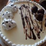 Муссовый торт с грушей