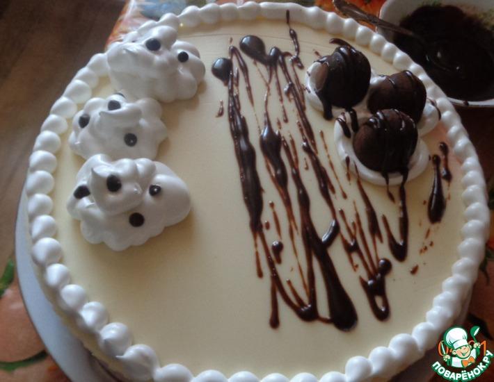 Рецепт: Муссовый торт с грушей