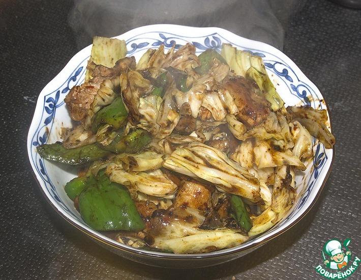 Рецепт: Свинина Хойкоро