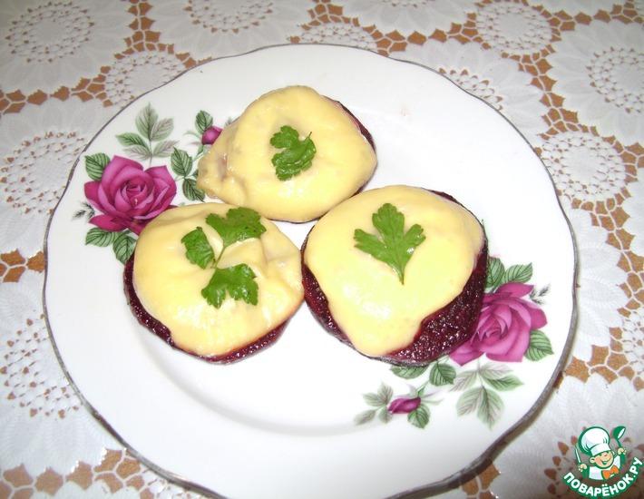 рецепт канапе с сыром поваренок
