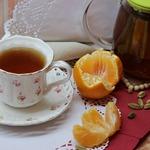Чай оригинальный с кардамоном и мандаринами
