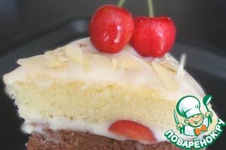 Рецепт: Йогуртовый торт Ягодка