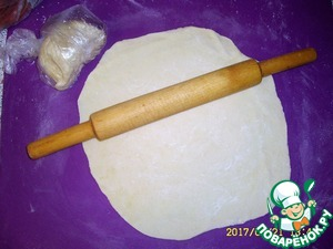Dumpling dough with sour cream