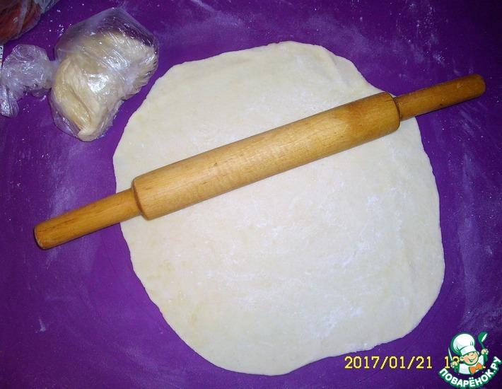 Рецепт: Пельменное тесто на сметане