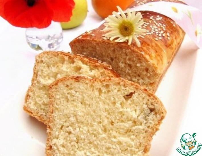 Рецепт: Хлеб на заварном креме