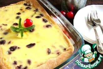 Рецепт: Вишневый пирог-пай
