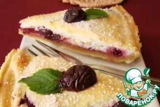 Рецепт: Пирог Ягодное облачко