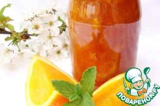 Рецепт: Варенье из цитрусовых с имбирем