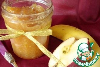 Рецепт: Яблочно-банановое повидло с ромом