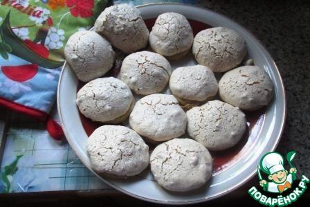 Печенье с ореховым безе
