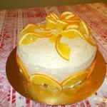 Торт Апельсиновая фантазия