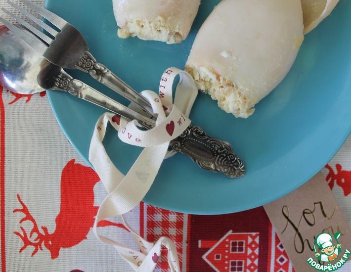 Рецепт: Фаршированные кальмары
