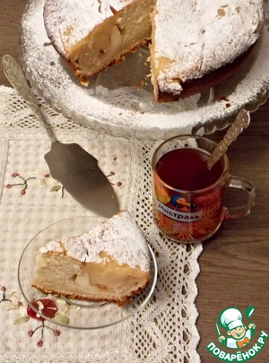 Sprinkle with powdered sugar and served with tea.