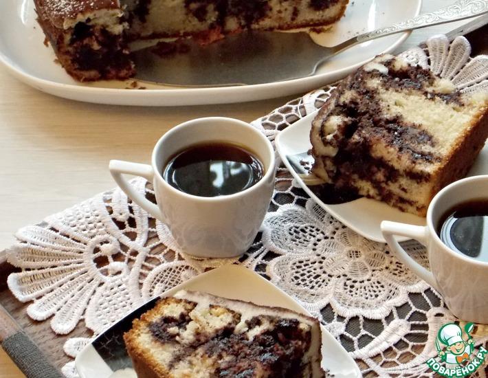 Рецепт: Пирог в дырочку