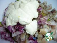 Салат из сельди с авокадо ингредиенты