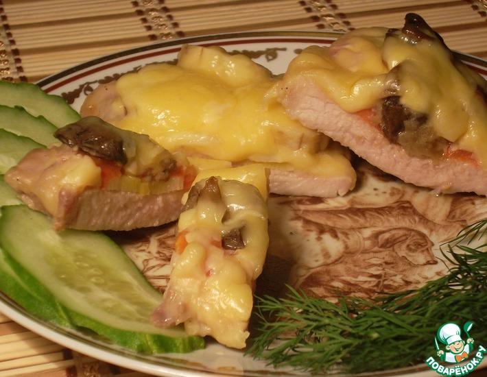 Рецепт: Свинина под сыром