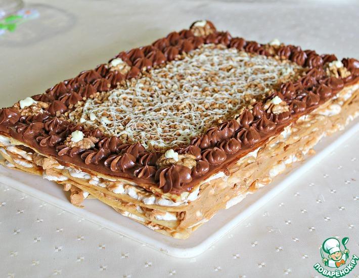 Рецепт: Торт Шоколадная Маркиза