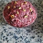 Салат из свеклы, орехов и сухофруктов