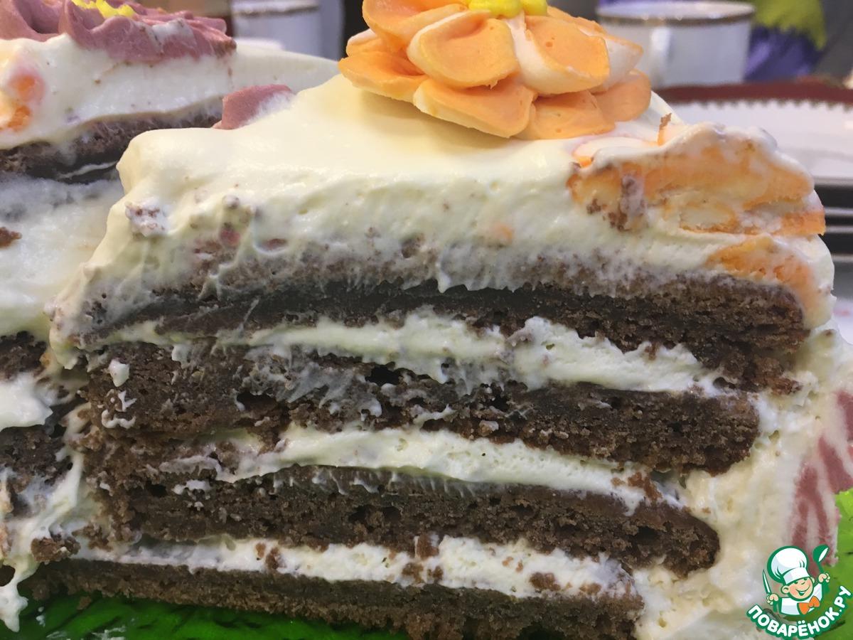 """Торт """"Шоколадная поляна"""""""