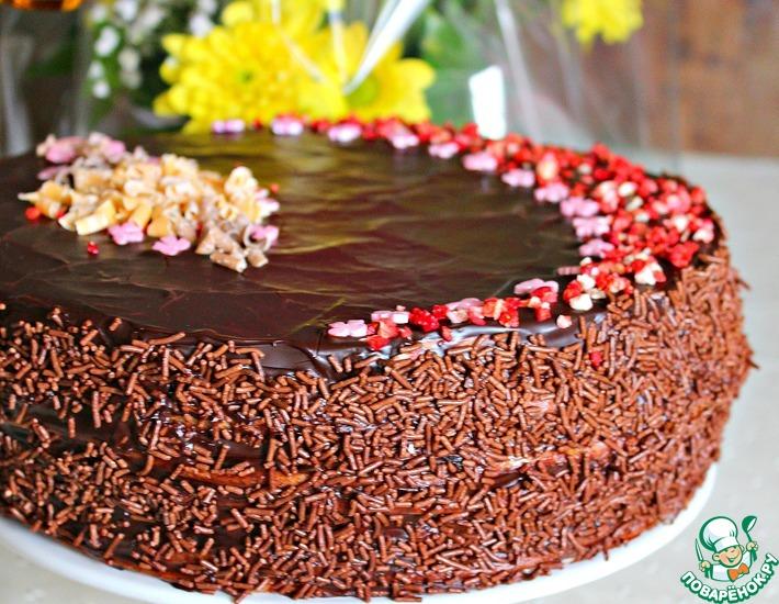 Рецепт: Торт Для самой-самой