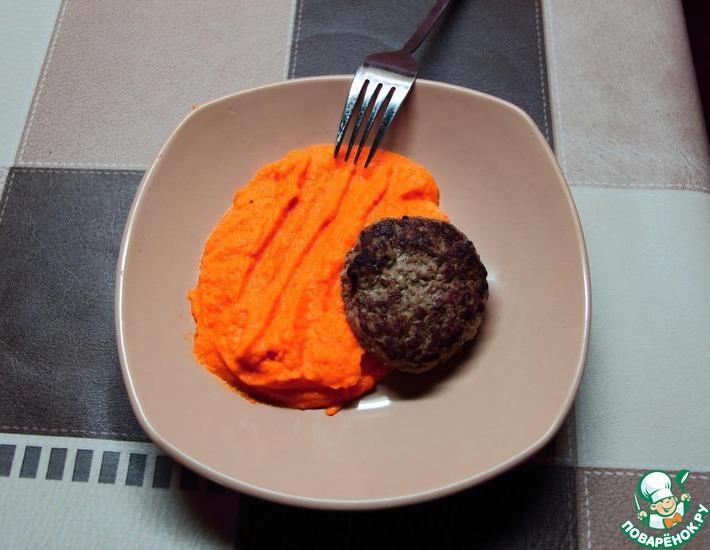 Рецепт: Морковное пюре