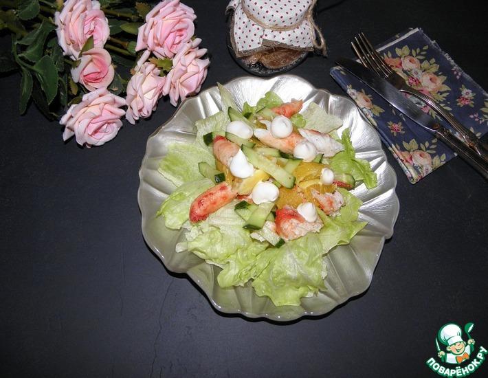 Рецепт: Салат из крабов