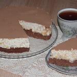 Торт с творожно-апельсиновым кремом