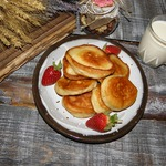 Оладьи Отличный завтрак!