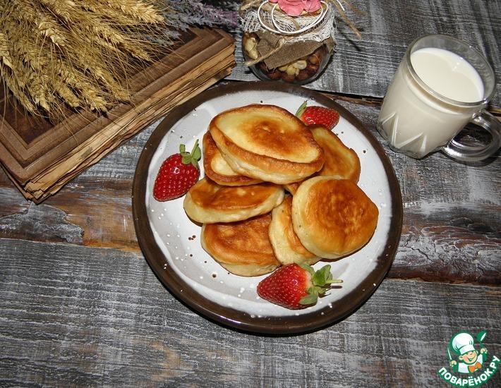 Рецепт: Оладьи Отличный завтрак!
