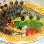 Осетр запеченный Званый ужин