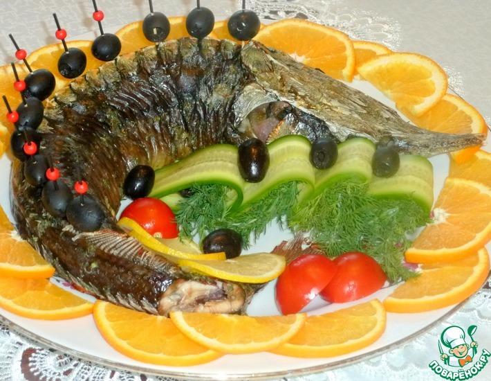 Рецепт: Осетр запеченный Званый ужин