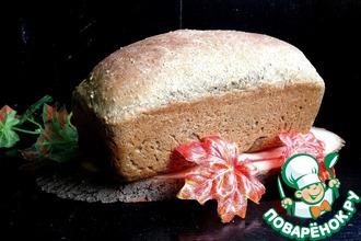 Рецепт: Хлеб конопляный с кунжутом