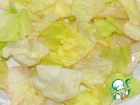 Картофельный салат с сельдью и зеленью ингредиенты