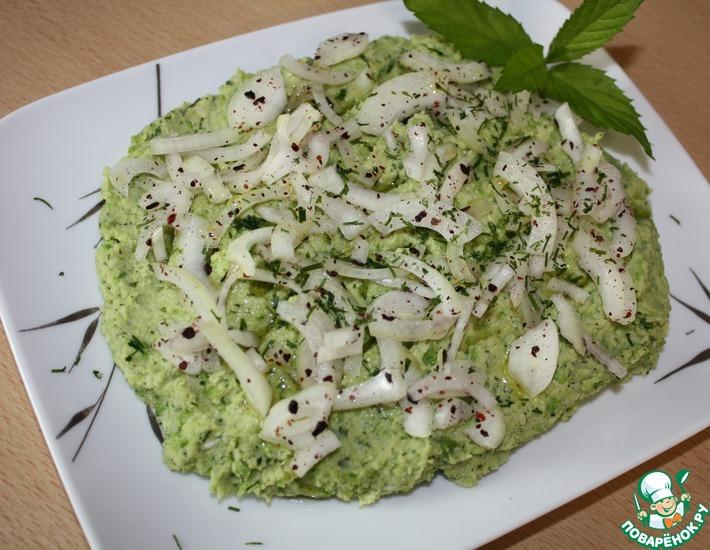 Рецепт: Закуска с зеленым горошком