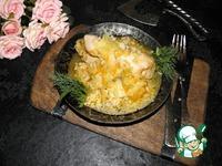 Курица с капустой и рисом ингредиенты