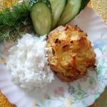 Мясные ватрушки с картофелем