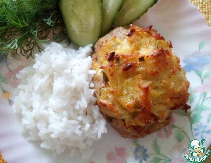 Рецепт: Мясные ватрушки с картофелем