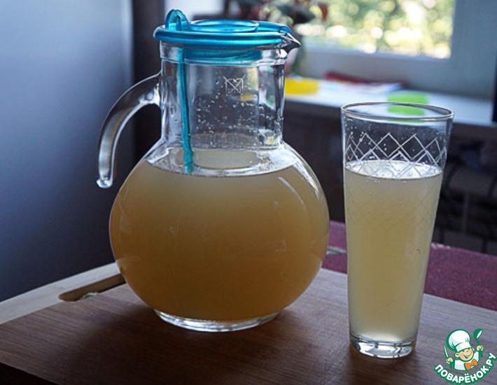 Рецепт: Лимонад домашний с грейпфрутом