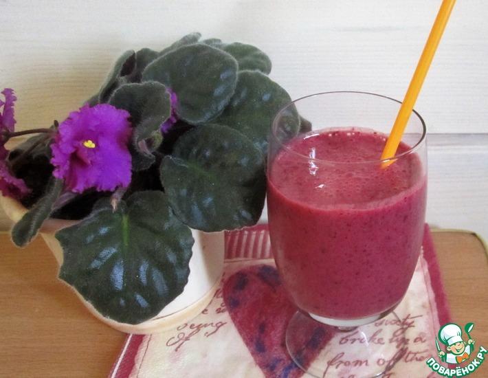 Рецепт: Смузи из ягод и фруктов