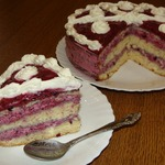 Торт Чёрная ягодка